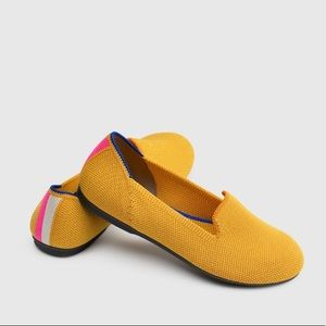 Rothy's Retired Yellow Lemondrop Loafers 7.5